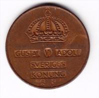 1953 Sweden 5 Ore Coin - Sweden