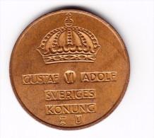 1968 Sweden 5 Ore Coin - Sweden