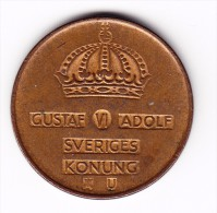 1962 Sweden 5 Ore Coin - Sweden