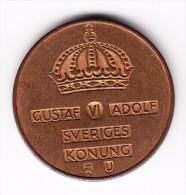 1964 Sweden 5 Ore Coin - Sweden