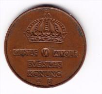 1963 Sweden 5 Ore Coin - Sweden