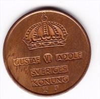 1959 Sweden 5 Ore Coin - Sweden