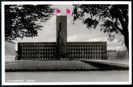 1379 - Ohne Porto - Alte Foto Ansichtskarte Wilhelmshaven Rathaus Gel 1937 Propaganda TOP - Wilhelmshaven
