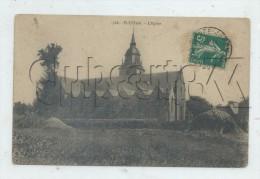 Plestan (22) : L'église En 1912 PF. - France