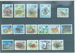 SEYCHELLES 397/409 (16V) 1977 MICHEL - Seychelles (1976-...)