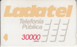 MEXICO(GPT) - Ladatel Naranja($30000), CN : 10MEXC, Used