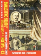 Salon Cartes Postale / Toutes Collections / Puzzles - Port-Fréjus 2002 - Expositions