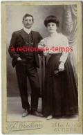 CDV Antibes-un Jeune Couple-photo Trabucco Rue Vauban - Fotos