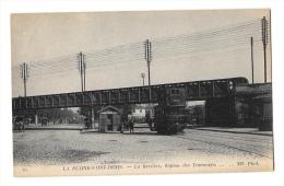 (7941-93) La Plaine Saint Denis - La Barrière Station De Tramways - Autres Communes