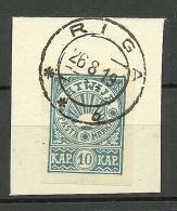 Estland Estonia Estonie 1919 Estnisches Okkupation In Nord-Latvia Valmiera O - Lettonie