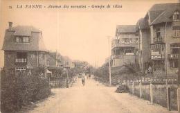 La Panne  - Avenue Des Mouettes - Groupe De Villas - De Panne