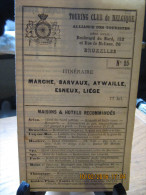 ITINERAIRE TCB N°25 MARCHE, BARVAUX, AYWAILLE, ESNEUX, LIEGE - Cartes