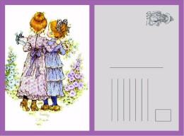 POSTAL SARAH KAY-14 - Dibujos De Niños