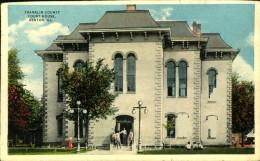 N°624 PPP 381 FRANKLIN COUNTY COURT HOUSE BENTON ILL - Etats-Unis