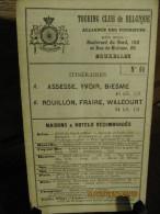 ITINERAIRE TCB N°66 A: ASSESSE, YVOIR, BIESME B: ROUILLON, FRAIRE, WALCOURT - Cartes