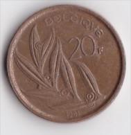 BELGIQUE BAUDOUIN  20 FRANCS  TYPE ELSTROM  ANNEE 1981  Légende Française  LOT 138 - 1951-1993: Baudouin I