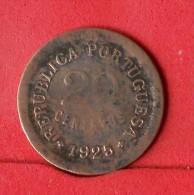 PORTUGAL  20  CENTAVOS  1925   KM# 574  -    (Nº13850) - Portugal