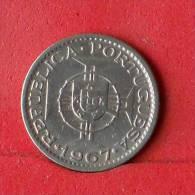 ANGOLA  2,5  ESCUDOS  1967   KM# 77  -    (Nº13856) - Angola