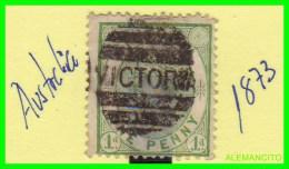 AUSTRALIA   ( QUEEN VICTORIA  )  AÑO 1873 - América Central