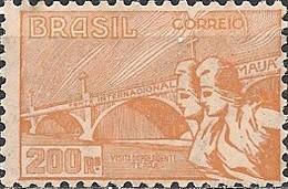 BRAZIL - VISIT OF PRESIDENT TERRA OF URUGUAY (200 RÉIS, ORANGE) 1935 - MNH - Brasile