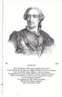 LOUIS XV - Personnages Historiques