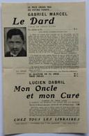 Publicité Livres : Théâtre - Publicités