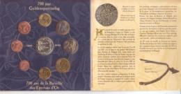 Belgio.Divisionale 2002 Con Medaglia In Cofanetto Originale - Gettoni E Medaglie