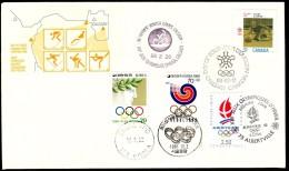 Canada Calgary 1988 / Olympic Games Calgary - Seoul - Albertville / Curling - Winter 1988: Calgary