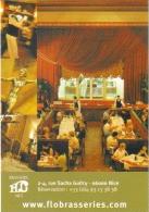 "Carte Postale édition ""Carte à Pub"" - Brasserie Flo Nice (bar - Brasserie - Restaurant) - Advertising"