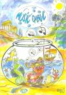 """Carte Postale édition """"Carte à Pub"""" - Music´enbul 2005 (scaphandrier) Angoulême (illustration Vincent Sauvion) - Publicidad"""