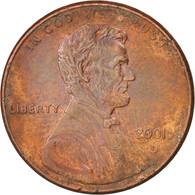 États-Unis, Lincoln Cent, 2001, Denver, SUP, KM:201b - Federal Issues