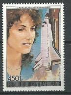 """Centrafrique Aerien YT 358 """" Victime De Challenger """" 1986 Neuf** - Centrafricaine (République)"""