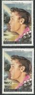 """Centrafrique YT 755 Et 756 """" Elvis Presley """" 1986 Neuf** - Centrafricaine (République)"""