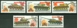 Sowjetunion 5347/51 O Panzer - Usati