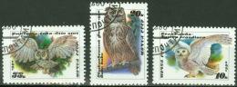 Sowjetunion 6063/65 O Eulen - 1923-1991 USSR