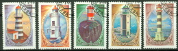 Sowjetunion 5396/5400 O Leuchttürme - Usati