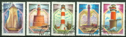 Sowjetunion 5309/13 O Leuchttürme - Usati