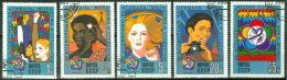 Sowjetunion 5497/5501 O Weltfestspiele - Usati