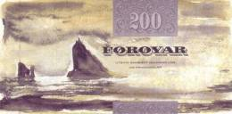 FAEROE P. 26 200 K 2002 UNC - Färöer Inseln
