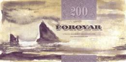 FAEROE P. 26 200 K 2002 UNC - Faroe Islands