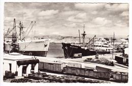 ANGOLA, CARTE POSTALE, LABITO VUE DES QUAIS, 1954. (6AL48) - Angola