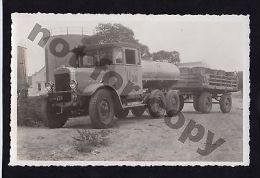 OIL TANKER THORNYCROFT TRUCK LORRY ORIGINAL PERIOD PHOTO CA1920 - Transportation