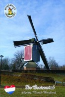 Carte Postale, Moulin A Vent, Windmills Encyclopedia, Netherlands, De Oostenwind, Asten  (North Brabant) - Moulins à Vent