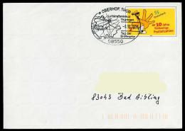 37243) BRD - Ganzsache USo 61 - SoST In 98559 OBERHOF, THÜR Vom 03.10.2003 - Tag Der Briefmarke, Luftstraßenkreuz - BRD