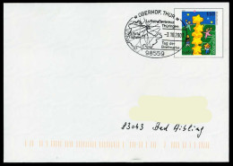 37244) BRD - Ganzsache USo 20 I - SoST In 98559 OBERHOF, THÜR Vom 03.10.2003 - Tag Der Briefmarke, Luftstraßenkreuz - BRD