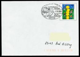 37245) BRD - Ganzsache USo 20 I - SoST In 98559 OBERHOF, THÜR Vom 03.10.2003 - Tag Der Briefmarke, Luftstraßenkreuz - BRD