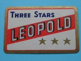 Three Stars LEOPOLD *** / JOKER ( Details - Zie Foto´s Voor En Achter ) !! - Barajas De Naipe