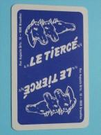 Le Tiercé / JOKER ( Details - Zie Foto´s Voor En Achter ) !! - Cartes à Jouer Classiques
