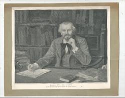 Tableaux , Portrait De M. JULES LEMAÎTRE Par Ferdinand HUMBERT , Frais Fr : 1.95€ - Non Classés