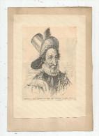 Tableaux , Portrait De HENRI IV , ROI DE FRANCE , Frais Fr : 1.55€ - Non Classés